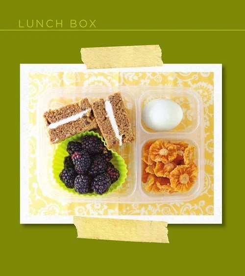 100 Days of Real Food lunch