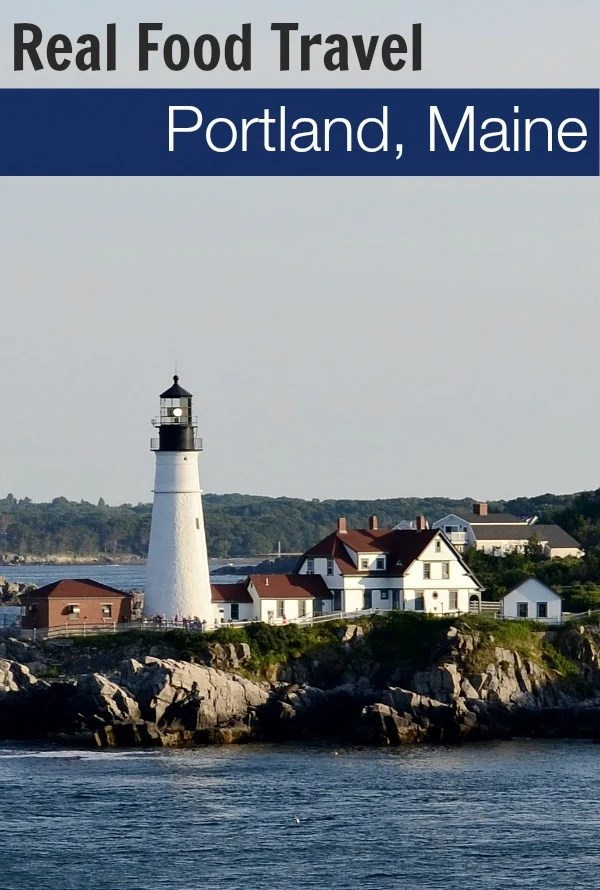 Portland, Maine is a great foodie vacation destination! There are so many locavore restaurants featuring delicious Maine food. Lobster, anyone? Real food travel tips from Real Food Real Deals.