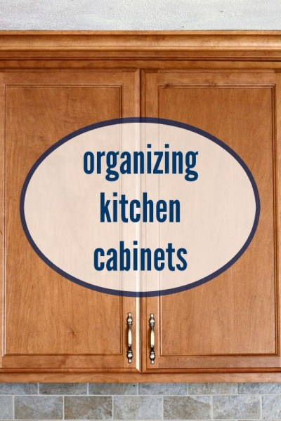 Organizing Kitchen Cabinets with OXO