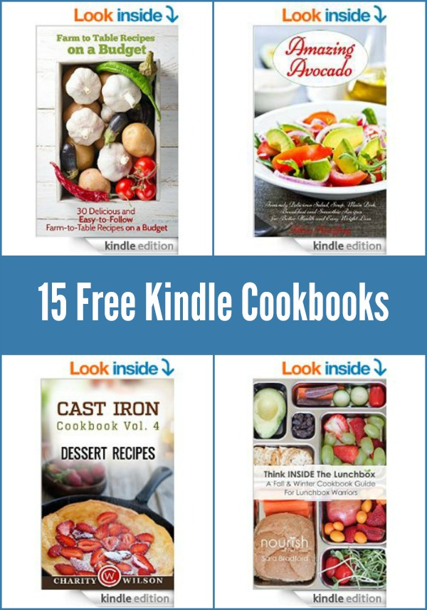 15 free kindle cookbooks real food real deals download these 15 free kindle cookbooks today free on december 18 2014 forumfinder Choice Image