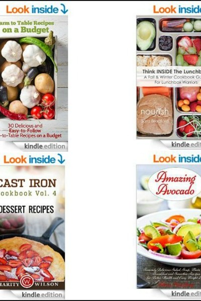 15 Free Kindle Cookbooks