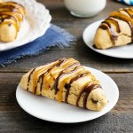 Peanut butter chocolate chip scones