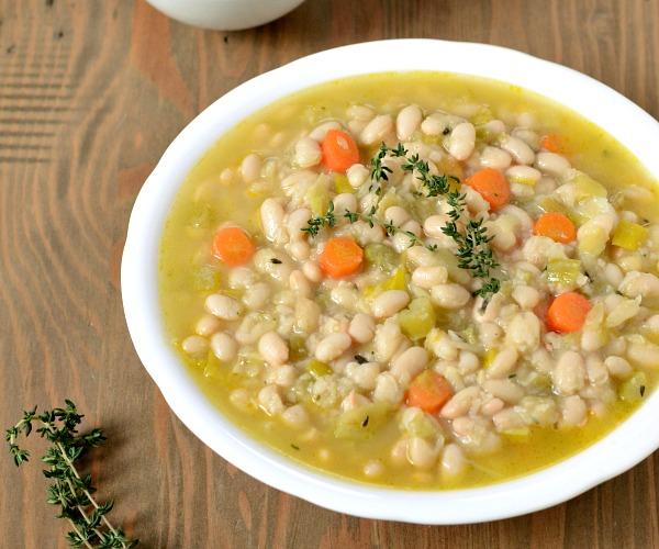 Vegetarian Cassoulet vegan dinner recipe