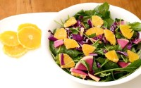This citrus kale salad is so flavorful!