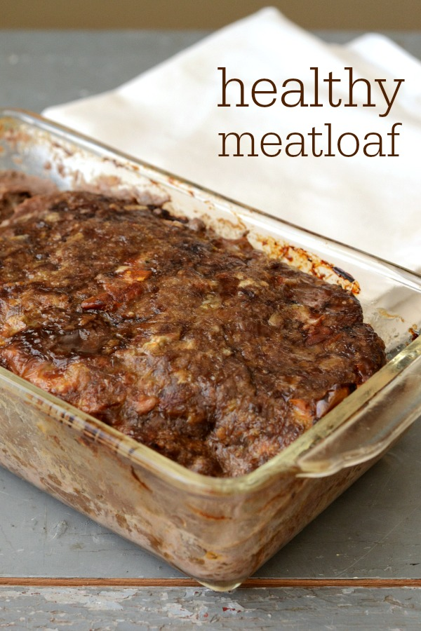 This healthy meatloaf recipe is a delicious, easy meal. Cook once and eat twice with this dinner recipe. The flavor is fantastic!