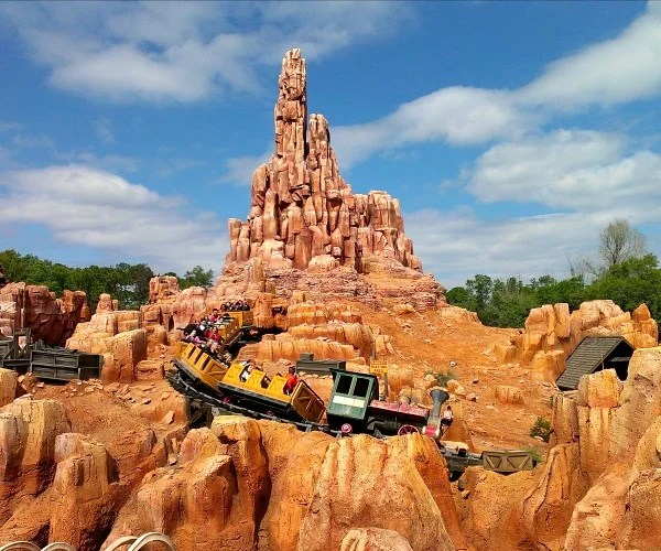 Disney World Meals Big Thunder Mountain Railroad