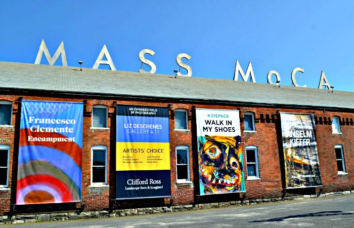 MASS MoCA is one of the many great cultural attractions in the Berkshires.