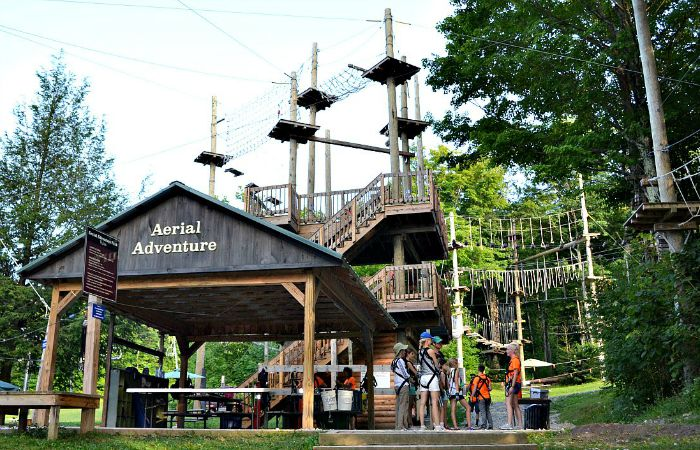 Jiminy Peak is a great place to experience nature and adventure in the Berkshires.