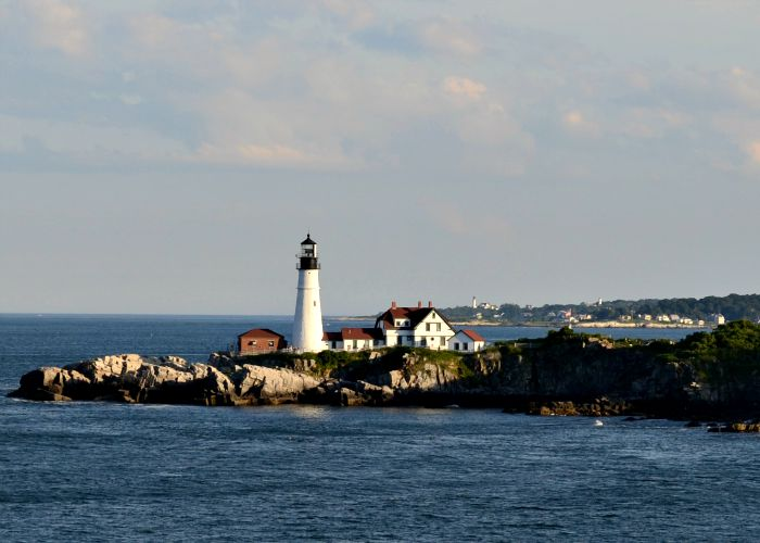 Portland, Maine is a beautiful place to visit in the fall.