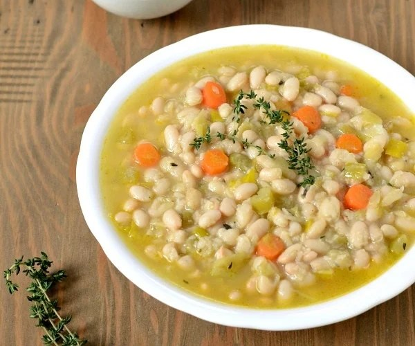 Vegetarian Cassoulet makes a delicious, frugal dinner!