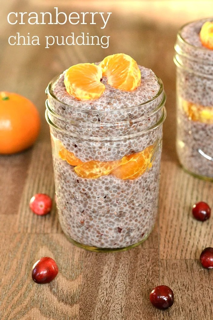 Cranberry vanilla chia pudding is a delicious fall snack or dessert recipe. This pudding is very flavorful and filling, so it's the perfect healthy snack to tide you over until your next meal.