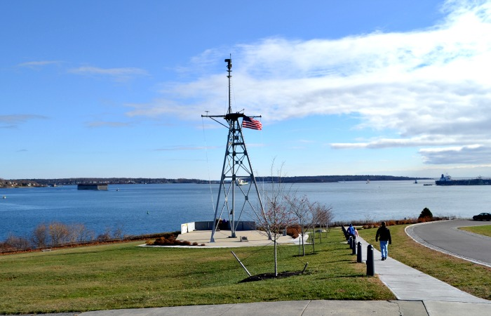 Don't miss the Eastern Promenade if you visit Portland, Maine!