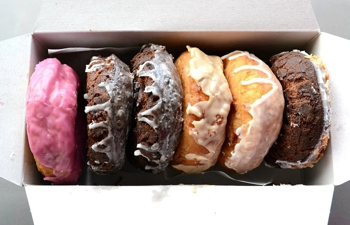 Maine potato donuts are all the rage in Portland! The Holy Donut is the perfect place to try them.