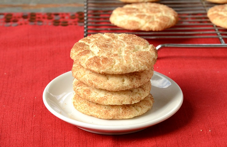Snickerdoodle recipe for cookie cutters