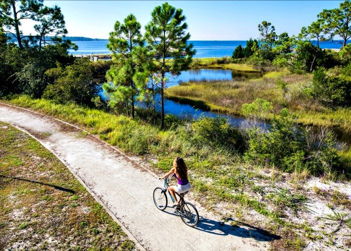 Biking in Gulf County Florida