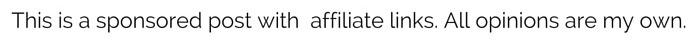 disclosure sponsored affiliate links