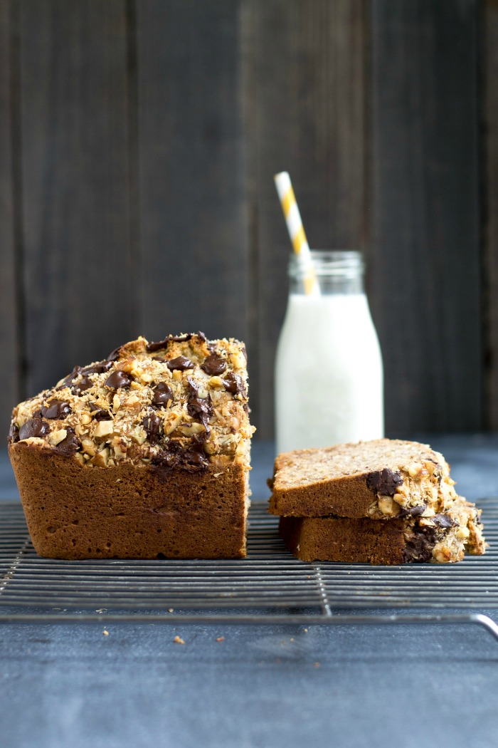 Blender banana bread recipe real food real deals this blender banana bread recipe is so quick and easy to make its a delicious forumfinder Image collections