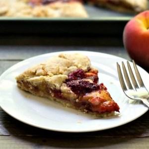 Raspberry Peach Galette Recipe
