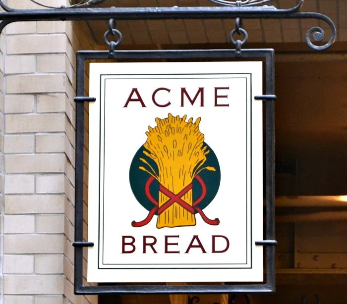 Acme Bread is a great place to get baked goods in Berkeley, CA.