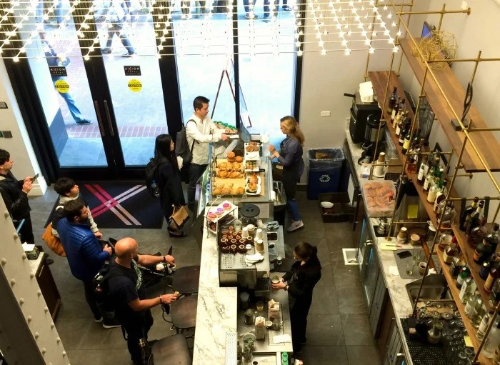 Turn Cafe at Axiom Hotel in San Francisco