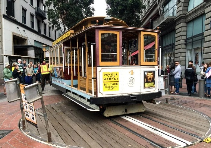 San Francisco's iconic cable car
