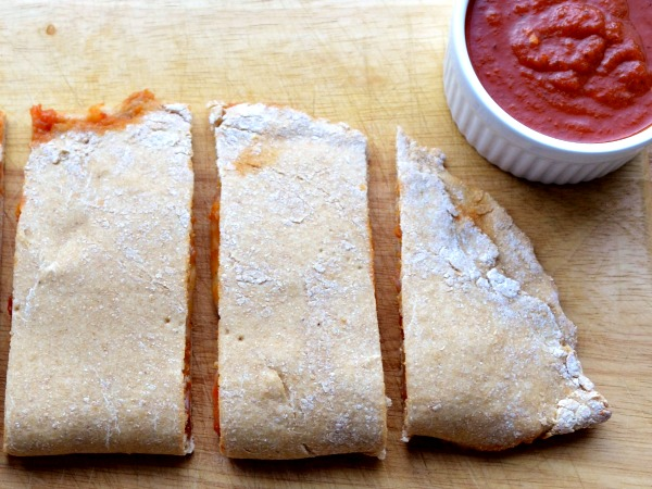 Calzones are the best healthy, frugal dinner on the go!