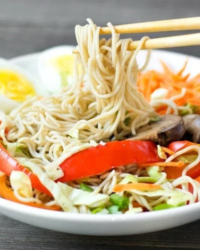 Healthy Ramen Bowl Recipe