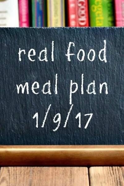 Real Food Meal Plan Week 144