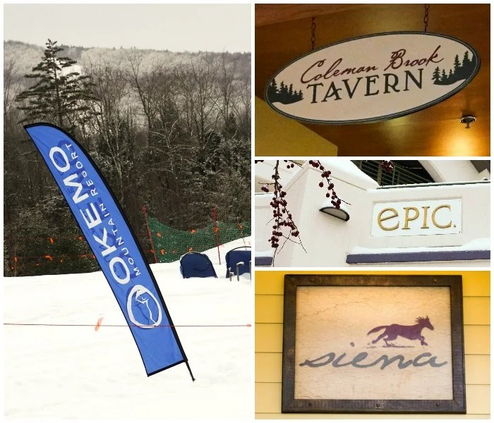 So many great restaurants at Okemo Mountain Resort!