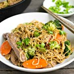 Beef broccoli ramen, such a delicious recipe!