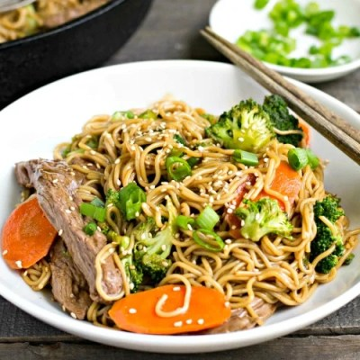Beef Broccoli Ramen