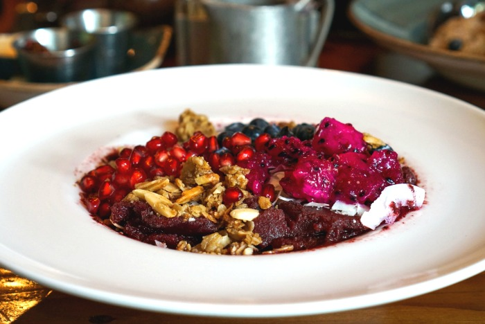 The acai bowl at Firefly in Washington, D.C. is a great way to start the day!
