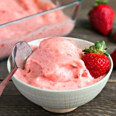 Strawberry Banana Soft Serve