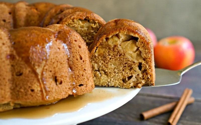 Healthy Apple Bundt Cake