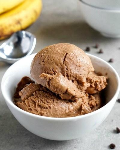 Chocolate Banana Ice Cream