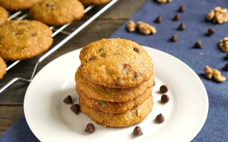 Steel Cut Oats Cookies
