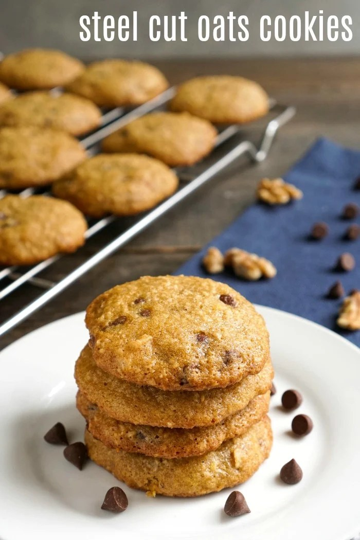Steel Cut Oats Cookies The Best Dessert Using Oatmeal