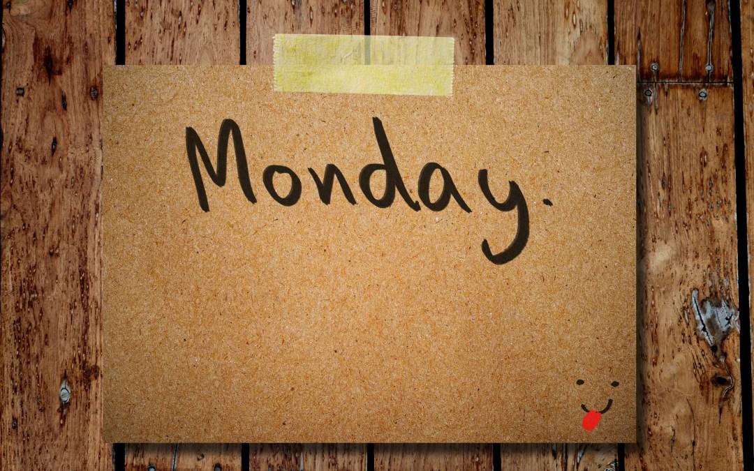 Preparing Your Week For Success.