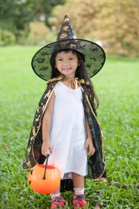 little-girl-in-costume-200x300 10 EASY, Creative, Healthy, HALLOWEEN TREATS