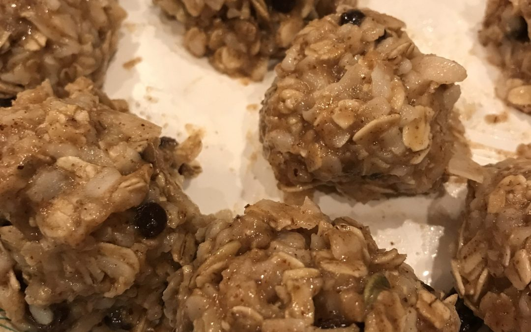Sprouted Brown Rice Granola Balls