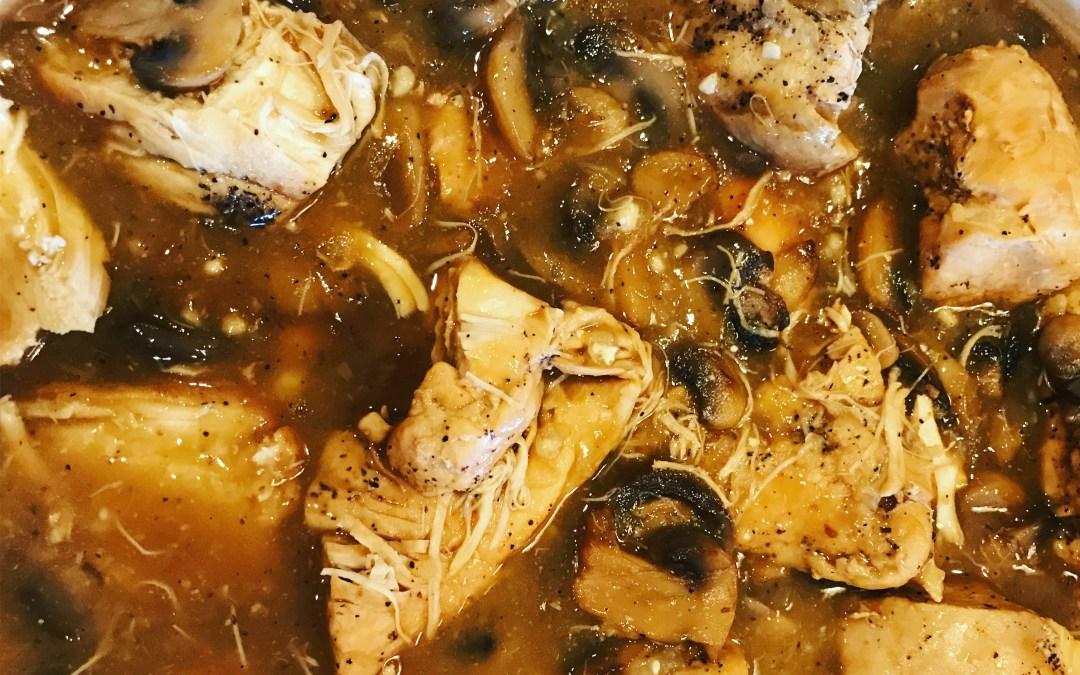 Chicken Marsala in the Instant Pot