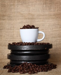 coffee-on-weights-243x300 Intensify Your Coffee into a POWERFUL Pre-Workout Fuel