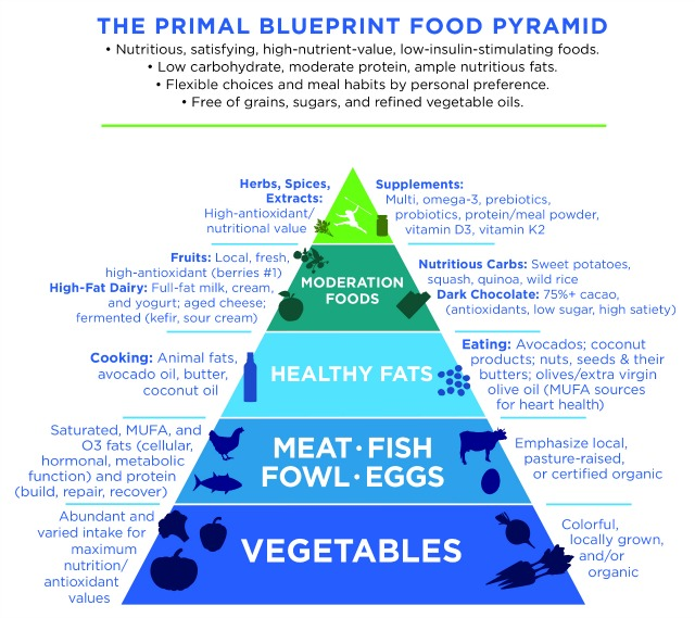 PB-Food-Pyramid-2016update-7-20 The Primal Blueprint Food Pyramid