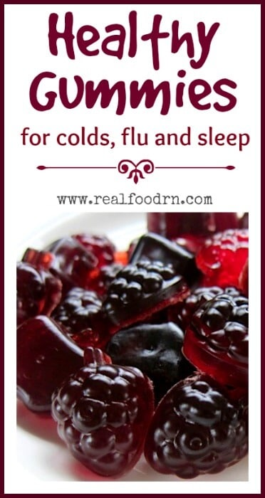 Elderberry Gummies for Cold, Flu and Sleep | Real Food RN