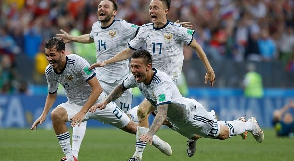 Russia not Pushovers as Fairytale continues