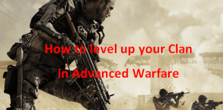 How do I level my Clan up in Call of Duty: Advanced Warfare?