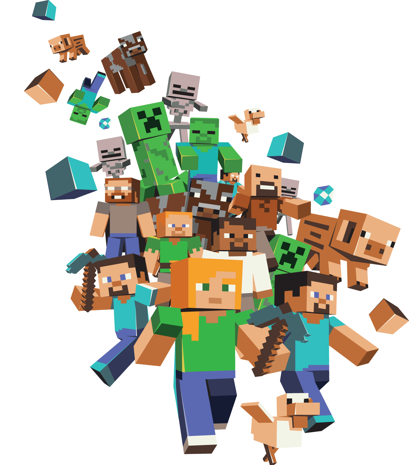 Minecraft Real Game Media