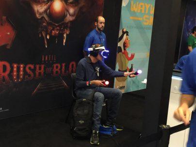 VR-Until Dawn