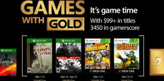 march 2017 games with gold