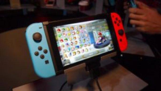 nintendo switch in high demand